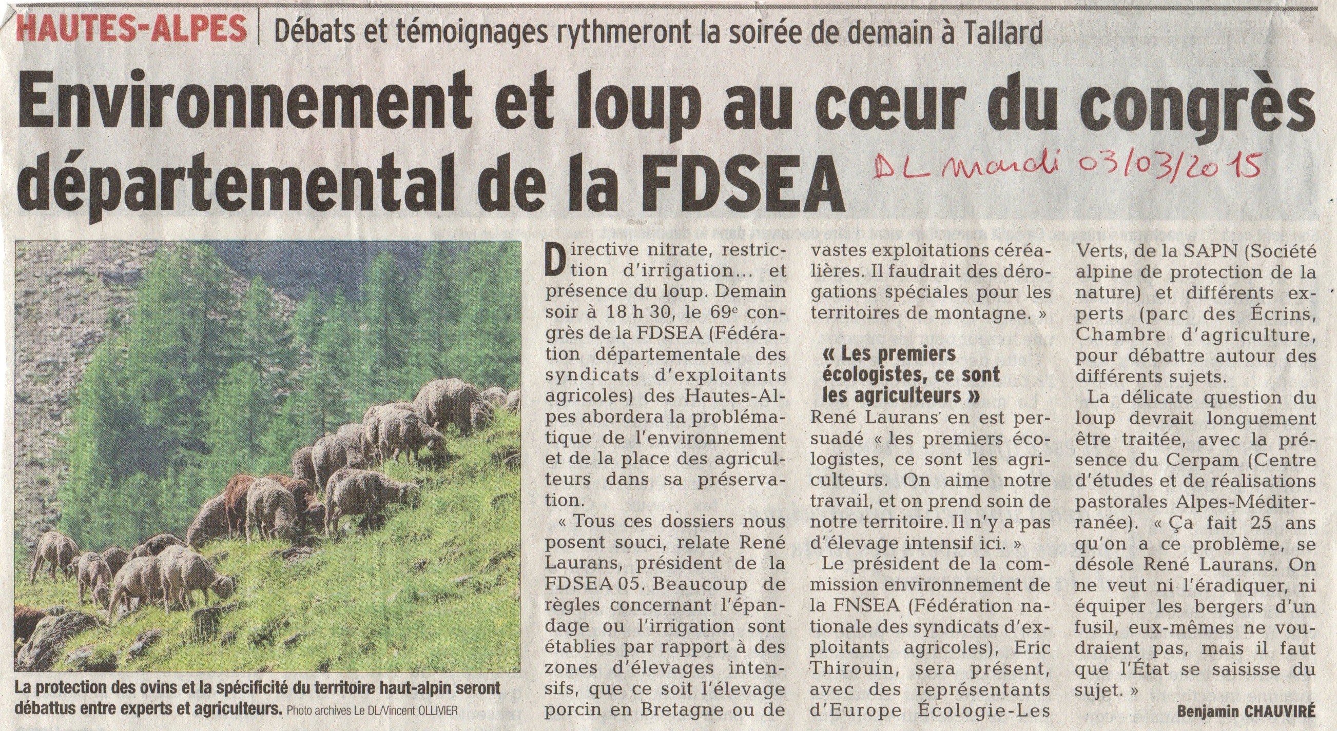 Article DL FDSEA