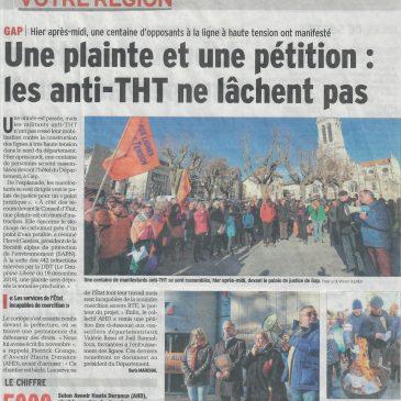 Lignes THT: Dépôt de plainte contre RTE et actualité média