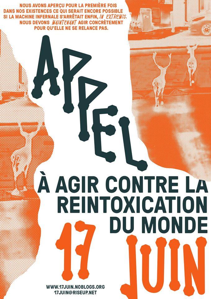 AGIR CONTRE LA REINTOXICATION DU MONDE : L'APPEL DU 17 JUIN