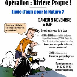 Opération Rivière Propre !